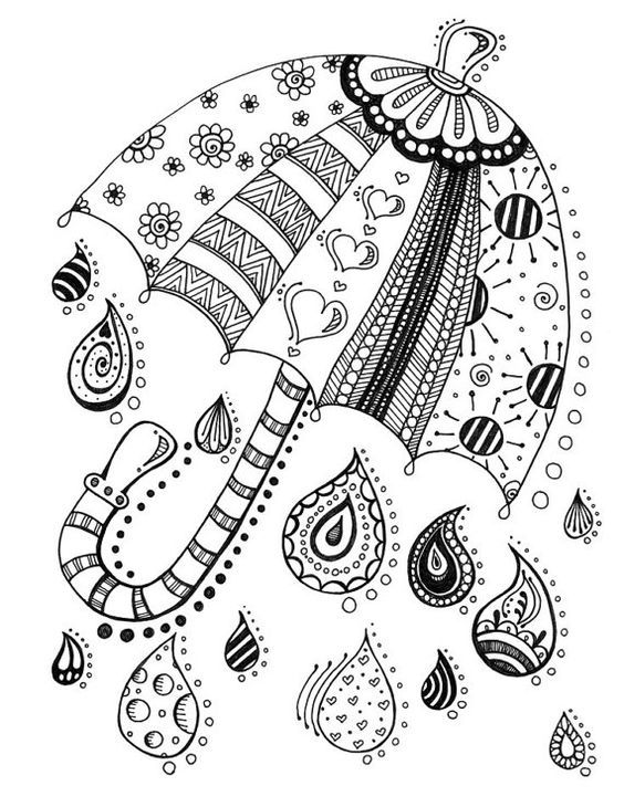 Kaleidoscope Eyes Coloring Book By On Etsy