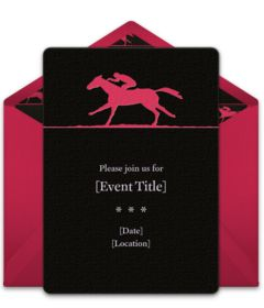 online invitations from kentucky derby kentucky and derby party