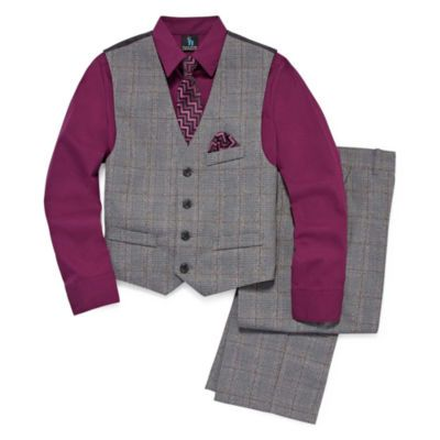 FREE SHIPPING AVAILABLE! Buy Steve Harvey 4-pc. Suit Set Preschool Boys at JCPenney.com today and enjoy great savings.