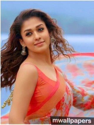 Beautiful Nayanthara Hd Photos In Saree 1080p Saree Beautiful