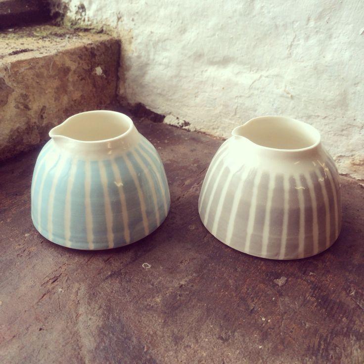 Ceramic jugs