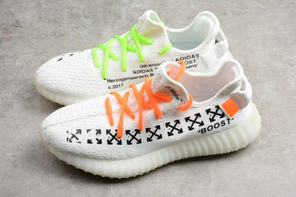 Latest Off White X Adidas Yeezy Boost 350 V2 White For Sale
