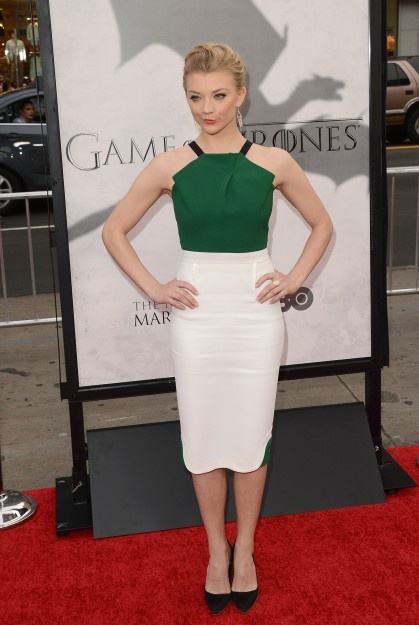 Natalie Dorner at Game of Thrones premier. Why can't I find THIS dress somewhere?