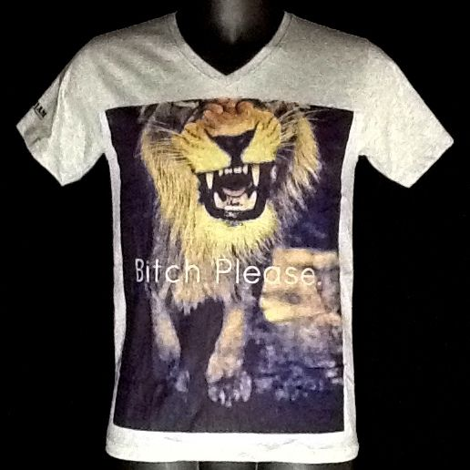Tee shirt RamJam Bitch please. #Bitch #Lion #Ramjam