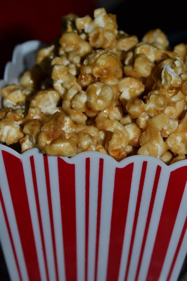 Homemade Caramel Popcorn ~ Simple Recipe!