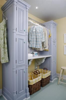 laundry - by Sarah Richardson - clothes drying rack / table top for folding / storage