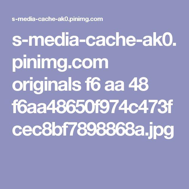 s-media-cache-ak0.pinimg.com originals f6 aa 48 f6aa48650f974c473fcec8bf7898868a.jpg