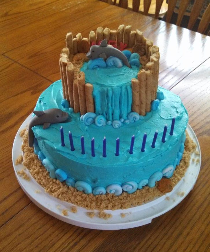 17 best ideas about dolphin birthday cakes on pinterest
