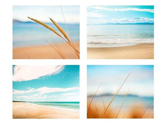 beach photography print set nautical decor 8x10 by mylittlepixels