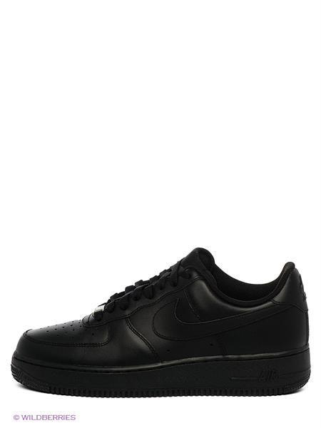 Air force 25 черные кроссовки