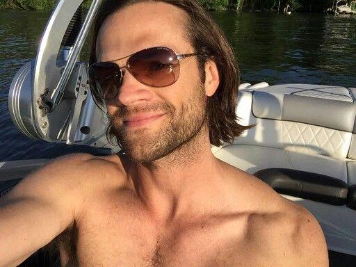 Jared Padalecki shirtless. You're welcome.
