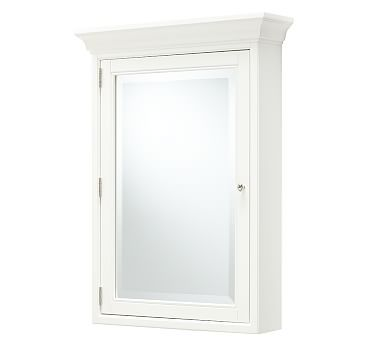 Hotel Wall-Mounted Medicine Cabinet, Extra-Large, White