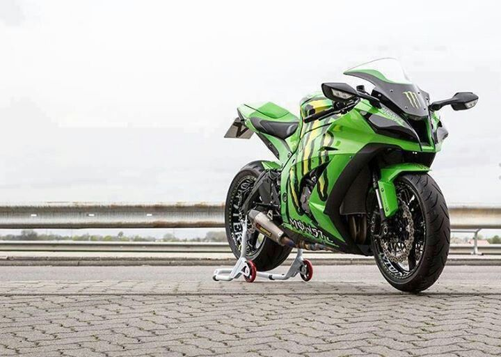Monster Energy Ninja ZX10 R