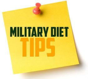 Four Day off menu plan for the Military Diet | The Military Diet