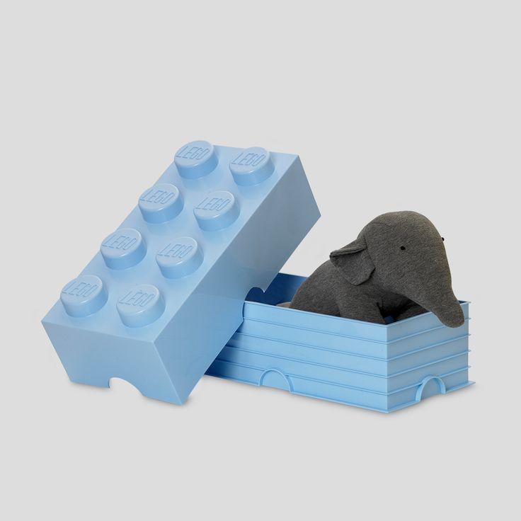 giant lego brick box stackable at - Brick Kids Room Decor