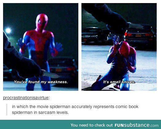 Why I love Andrew Garfield as Spiderman.