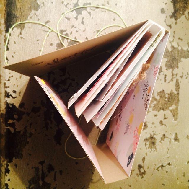 Mini album cognate - Tenderling - Swirlcards