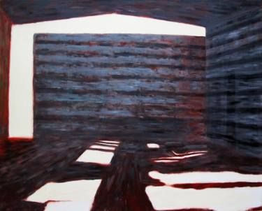 "Saatchi Art Artist Wojtek Herman; Painting, ""Inside - Outside I"" #art"