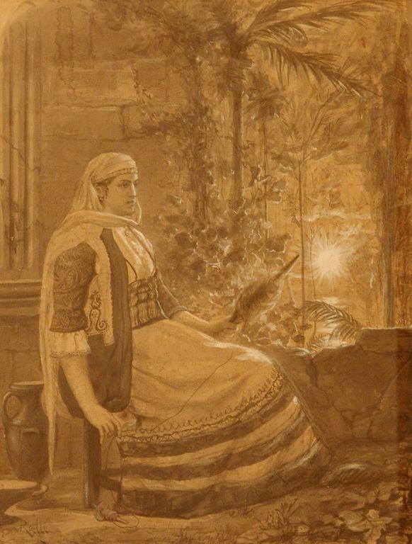 Ράλλης Θεόδωρος – Rallis Theodoros [1852-1909] GREEK COSTUME