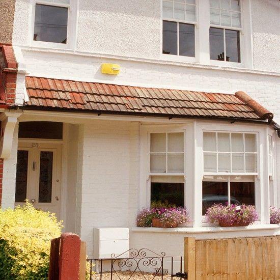 Take a tour around a stylish white London terrace.