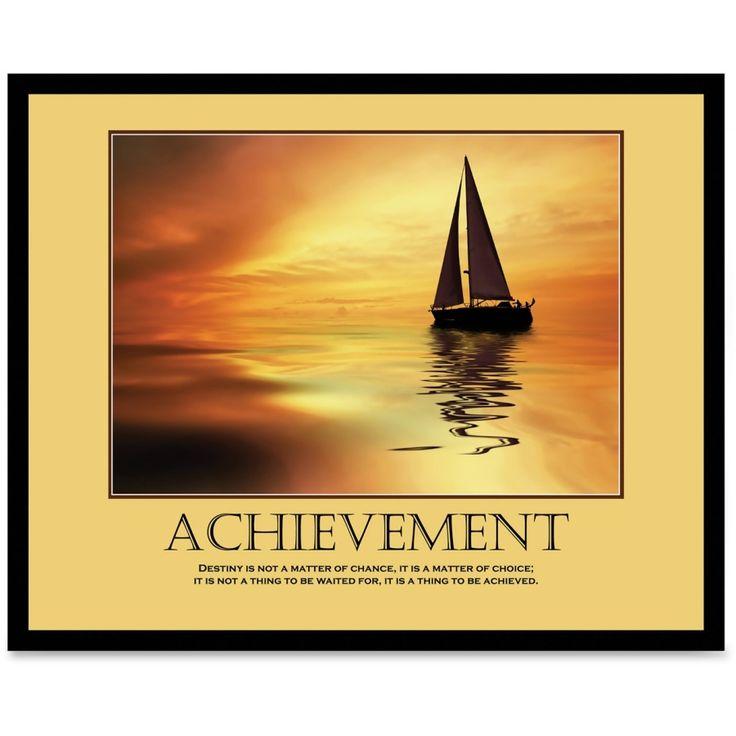 Advantus framed motivational poster achievement 30 width x 24 height http office artthe
