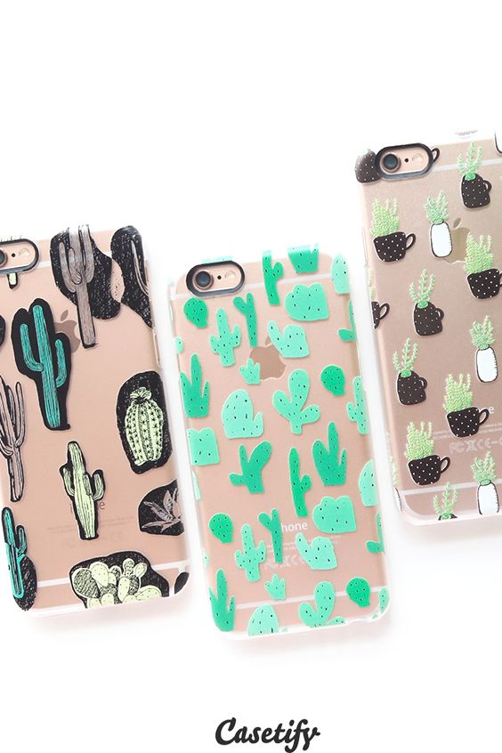 Click through to see more Cactus iPhone 6 phone case designs. Plants it on your case! >>> https://www.casetify.com/collections/iphone-6s-cactus-cases#/?device=iphone-6s   @casetify