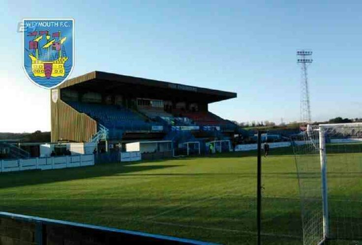 Wessex Stadium, Weymouth FC in the 1990s.