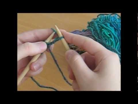 Knitting for Beginners - easy to follow tutorial