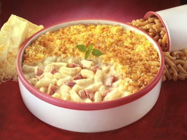 Crumble de macaronis au jambon - Femmes d'Aujourd'hui