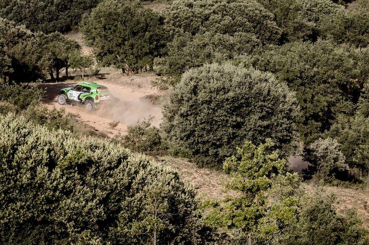 MINI ALL4 Racing #203 - X-Raid Team