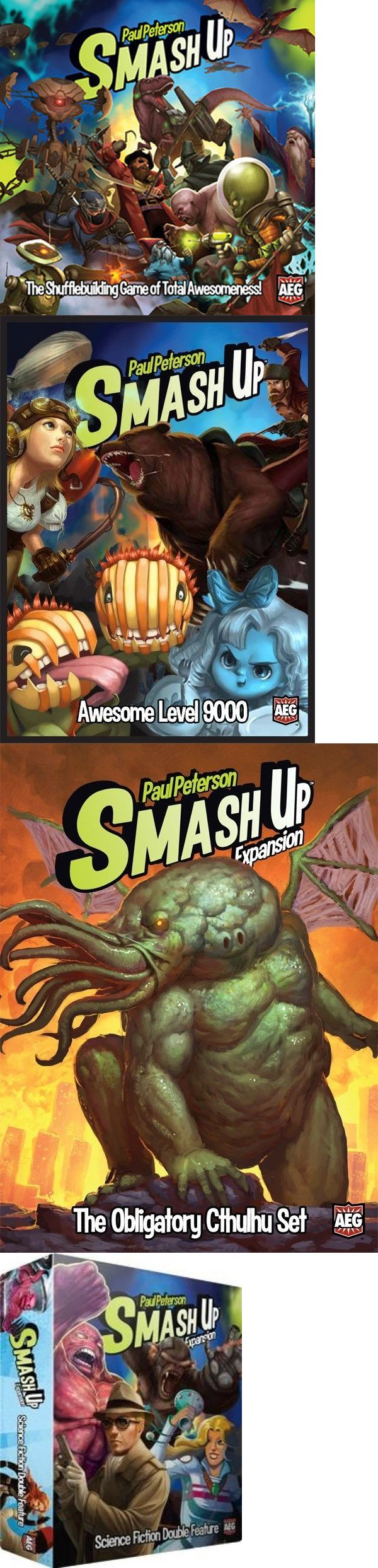 Other Card Games and Poker 2552: Smash Up Terrific Ten Bundle $269.90 Value 10 Titles(Alderac)123457891011 -> BUY IT NOW ONLY: $119.99 on eBay!