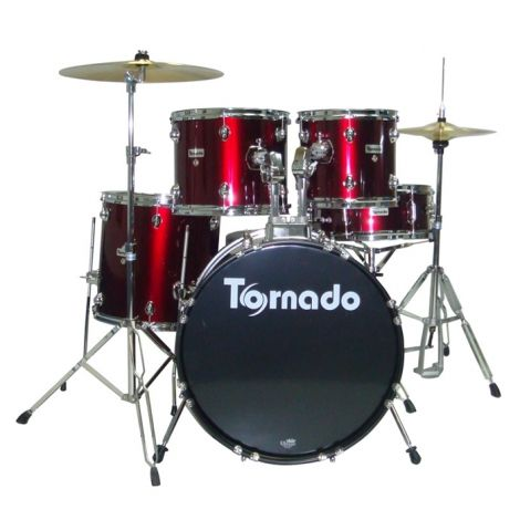 The new Tornado from Mapex goes a long way to avoiding first–kit frustrations. With back–up from a proper brand that's often missing in the starter kit bracket, the Tornado feels more like a real drum kit than many of its competitors, and consequently rather more rewarding to sit behind.