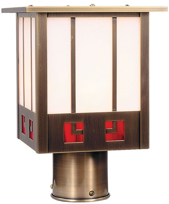 arroyo craftsman ssp8 state street craftsman outdoor light post 75 inches wide
