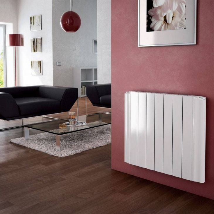 Aluminium Radiator. The Electric Version comes with integrated 7 day timer and thermostat.   Many sizes available. #TOSO