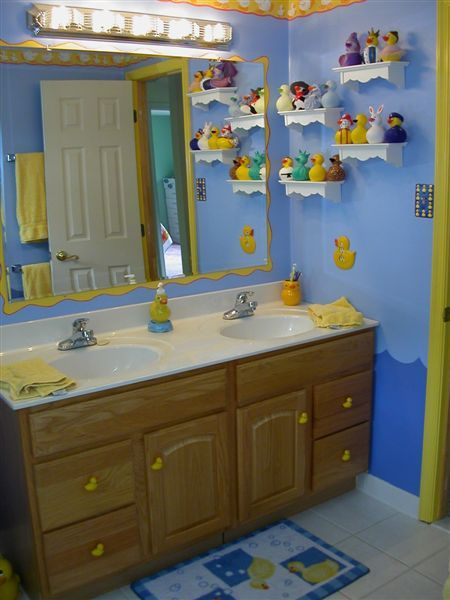 Cute duck bathroom ideas house pinterest for Cute bathroom ideas pinterest