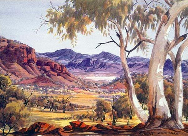 "Albert Namatjira -- a tragic life, but I cannot agree that he ""shouldn't"" have been taught a European art style"