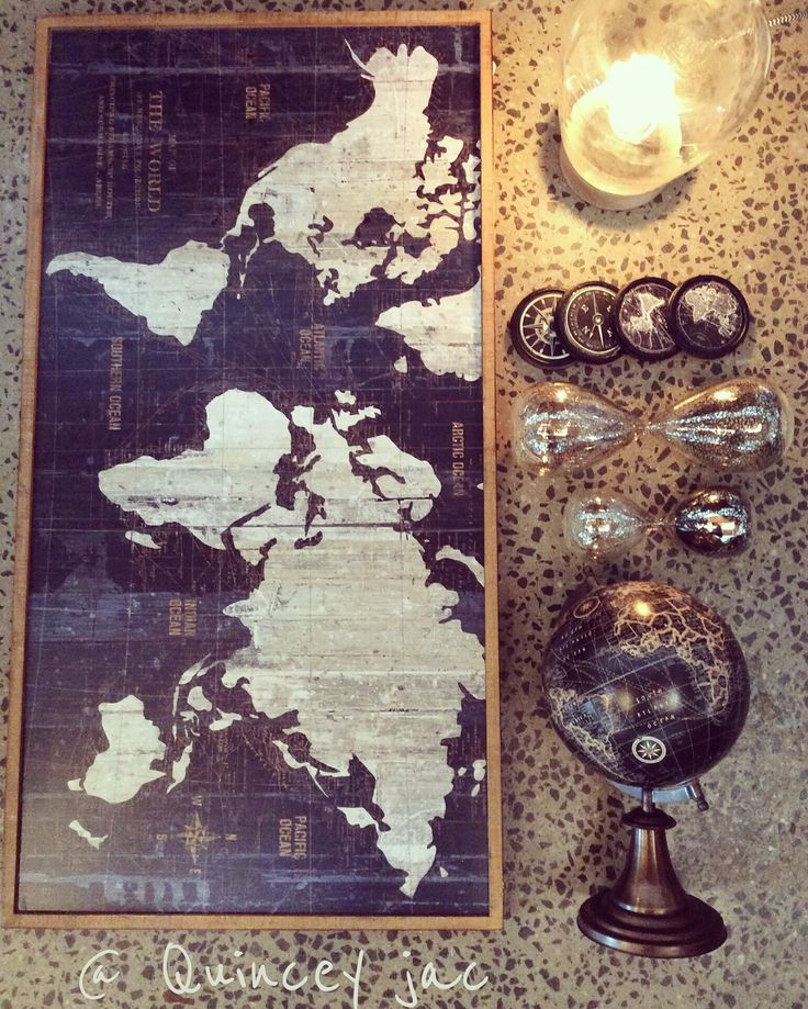 #maps #globe #worldmap #lighting #homedecor #gifts #quinceyjac