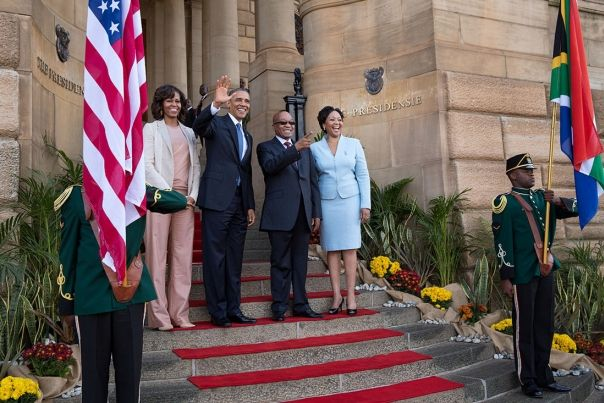 Official Arrival Ceremony with South African President Jacob Zuma