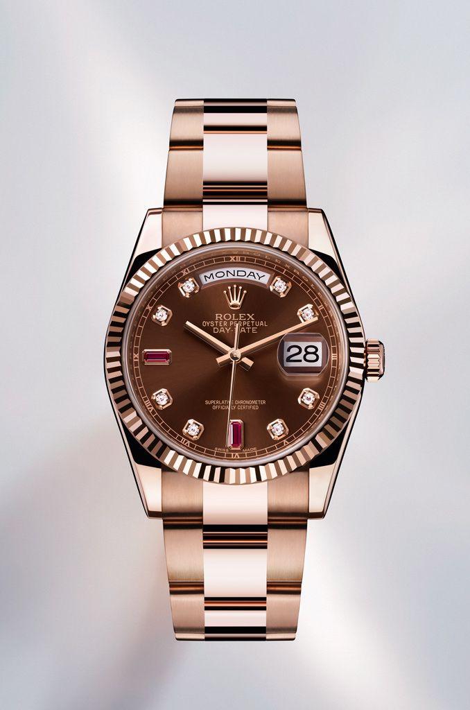 Rolex Mujer Oro Rosa