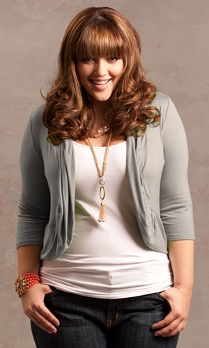 The Amber Shrug in grey - So cute!! she is my favorite Plus Size Modle
