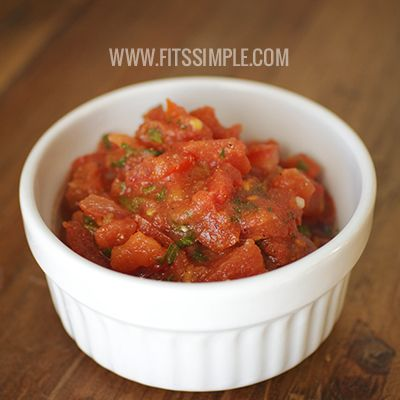 Looking for a fresh, homemade mild salsa recipe. Look no further because this one is quite tasty and super SIMPLE! ENJOY!!!