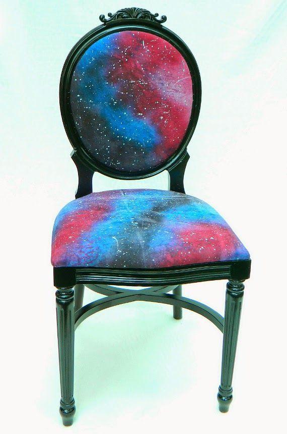 Mark Montano: Galaxy Chair and Fabric DIY using rit dye