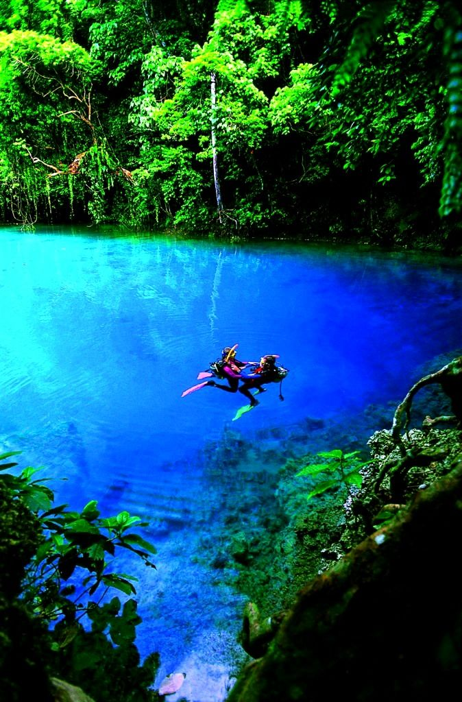 Se baigner dans une eau cristalline I #Fidji I