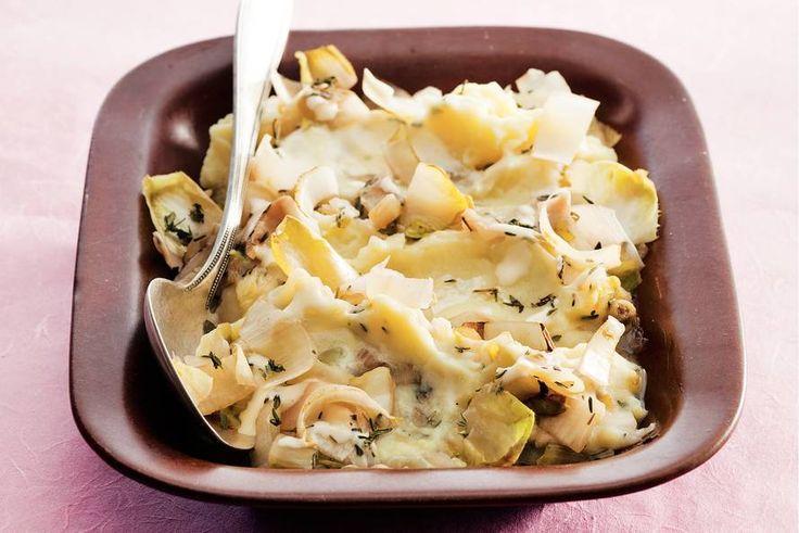 Puree met witlof en kaas - Recept - Allerhande