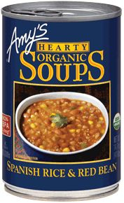 Organic Hearty Spanish Rice & Red Bean Soup Amy's