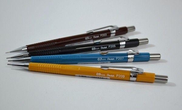 Pentel P200 Series Mechanical Pencils