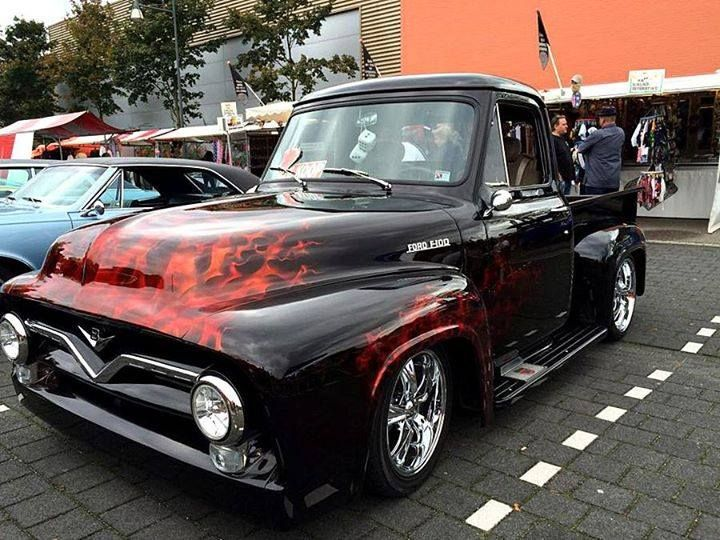 Cute Ford F-100 ... Thoughts? #raypublishing