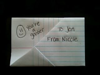 Remember how to fold a note...this gal does:) I'm so glad I found this. I can't tell you how many notes I did like this. LOL