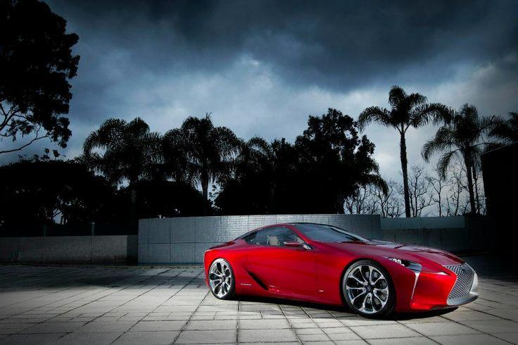 Lexus LF-LC overseas concept vehicle
