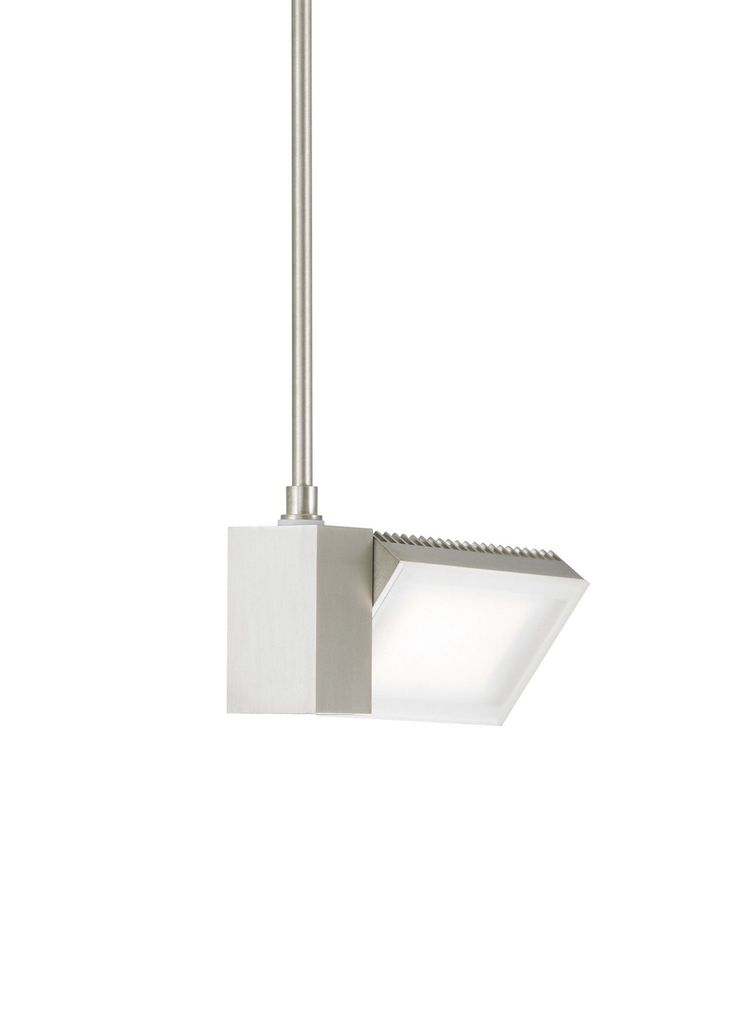 IBISS 1 Light Flood Edge Lit Single LED Track Pendant